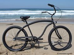 Firmstrong Bruiser Beach Cruiser Matte Black 3-Speed