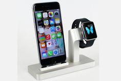 """Les fabricants d'accessoires qui seraient parties prenantes au programme """"Made for Apple Watch"""" pourraient avoir le droit de vendre la partie chargeur intégrée à leur dock Apple Watch. Toutefois, ils devront se fournir pour la partie contact chez Apple, et cela pourrait limiter les quantités disponibles d'ici la fin de l'année. - See more at: http://www.iphonologie.fr/5669-dock-apple-watch-apple-lache-les-renes/#sthash.38f9A8An.dpuf"""