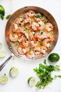 This Tequila Lime Shrimp is packed with flavor, easy to make, and is the absolute perfect summer shrimp dish. It's all ready in under 15 minutes! Lime Shrimp Recipes, Fish Recipes, Seafood Recipes, Paleo Recipes, New Recipes, Cooking Recipes, Favorite Recipes, Dinner Recipes, What's Cooking