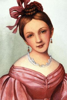 Clara Schumann, (1819 -1896) German pianist, composer, and wife of composer Robert Schumann. She studied piano from the age of five and by 1835 had established a reputation throughout Europe as a child prodigy.  Despite strong objections from her father, she married Schumann in1840, and they had eight children between 1841 and 1854. Though family responsibilities curtailed her career, she taught at the Leipzig Conservatory, composed, and toured frequently.