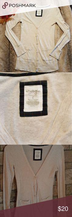 Energie sweater beige sweater Energie Sweaters