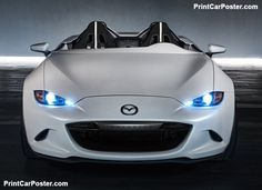 Mazda MX-5 Speedster Evolution Concept 2016 poster, #poster, #mousepad