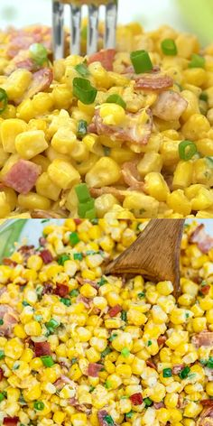 Side dish recipes 34128909664455826 - Crack Corn Salad is crunchy, creamy, sweet, sour, and savory all at the same time! Make this quick side dish for your cookouts this summer! Source by sweetandsavorymeals Cookout Side Dishes, Cookout Food, Side Dishes For Bbq, Summer Side Dishes, Side Dish Recipes, Side Dishes With Hamburgers, Side Dish With Fish, Side Dishes For Fajitas, Pulled Pork Sides Dishes