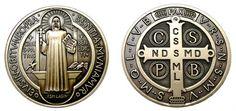 El poder de esta medalla radica en Cristo, quien otorga a la Iglesia y por la fervorosa disposición de quién usa la medalla. ¡Actúa por Fe! http://www.pildorasdefe.net/aprender/fe/poderoso-significado-liberador-medalla-san-benito-cruz-exorcismo