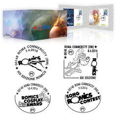 7 - 10 aprile XIX edizione di Romics, il Festival internazionale del Fumetto dell'animazione e dei Games.