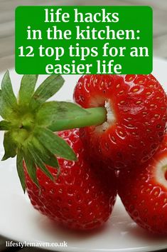 Life hacks in the kitchen: 12 top time saving, space saving and de-stressing tips for an easier life Eyes Watering, Frozen Grapes, Easy Peel, Egg Shells, Boiled Eggs, Kitchen Hacks, Washing Clothes, Food Inspiration, Cooking Tips