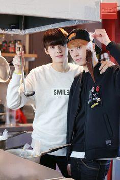 Eunwoo + Sanha