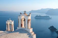 Santorini, Greece... Cruising....