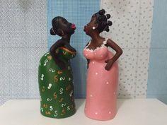 bonecas africanas de garrafa - Pesquisa Google