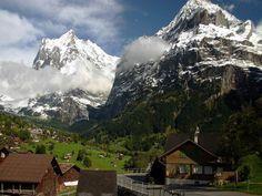 Landschaps from Switzerland. Panorama's de Suisse. Panorama's van zwitserland.