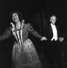 "Joan Sutherland & Nino Sanzogno - ""Lucia di Lammermoor"", 1964 http://www.archiviolascala.org/"