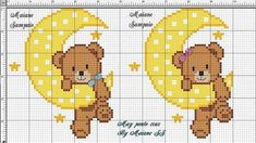 quilting like crazy Cute Cross Stitch, Cross Stitch Charts, Cross Stitch Designs, Cross Stitch Patterns, Hand Embroidery Patterns Flowers, Baby Embroidery, Cross Stitch Embroidery, Embroidery Designs, Le Point