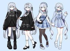 Anime Character Drawing, Cartoon Girl Drawing, Anime Girl Drawings, Girl Cartoon, Cute Drawings, Anime Girl Dress, Manga Anime Girl, Anime Girl Cute, Kawaii Anime Girl