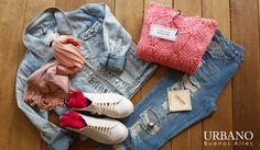 Campera de jean nevada. zapatillas de cuero bca . jean boyfriend. sweater calado. cosegui tu conjunto en nuestro local av. Riestra 5778 o en nuestro sitio web www.urbanobsas.com.ar compralo on line