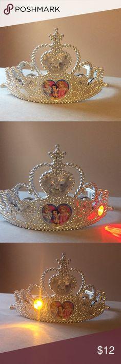 Disney Princess Tiara Light up Disney Princess tiara Accessories Hair Accessories
