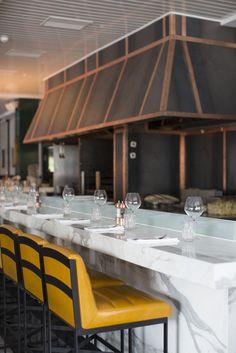 "Like the ""Marble Bar"" top only Covent Garden Fox (Altrincham, UK), Restaurant or Bar in a retail space Restaurant Design, Restaurant Bar, Bar Interior Design, Bar Design Awards, Counter Design, Bar Furniture, Modern Furniture, Modern Bar, Hospitality Design"