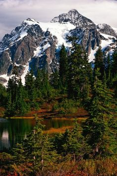 Shuskan, North Cascades National Park, in Autumn My favorite mountain. Cascade National Park, North Cascades National Park, National Parks, Beautiful World, Beautiful Places, Outdoor Life, Beautiful Landscapes, The Great Outdoors, Wonders Of The World
