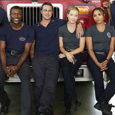 Firehouse 51 was rocked to the core last night. #ChicagoFire