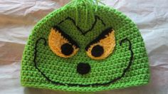Christmas Grinch hat! Would be a great Christmas gift for the little people!