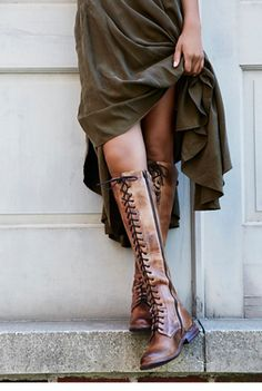 Bed Stu Womens GLASTONBERY LACE UP BOOT