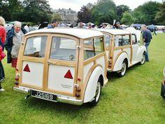 Car Trailer, Camper Trailers, Classic Mini, Classic Cars, Morris Traveller, Woody Wagon, Morris Minor, Vintage Caravans, Hot Rod Trucks