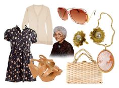 """sophia petrillo"" by hellooutlaw ❤ liked on Polyvore featuring INDIE HAIR, Vintage Collection, Miu Miu, Chloé, Del Gatto and modern"