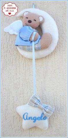 Annuncio fiocco nascita : Orsetto sulla luna!, by Non ti scordar di me ♥, 30,00 € su misshobby.com