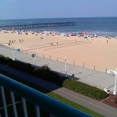 Favorite place to be, the beach. Virginia beach
