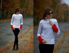 Kamila Z - Zaful Sweater, Zara Earrings, Bas Bleu Pants, Dresslily Shoes - Zaful striped sweater   LOOKBOOK