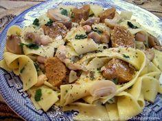 seitan sausage & pasta - also includes several other seitan recipes
