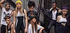 """#CARAD4DKNY """"It started organically with exchanging ideas with Cara Delevingne on a jumpsuit, and blossomed over the last year into a 15-piece collection that is authentically equal parts Cara's individual quirk and DKNY'S urban edge"""" ○ #Fasion #WomensFashion"""
