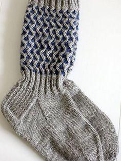 Crochet Socks, Diy Crochet, Knitting Socks, Hand Knitting, Knitted Hats, Knitting Patterns, Hat And Scarf Sets, Winter Socks, Wool Socks