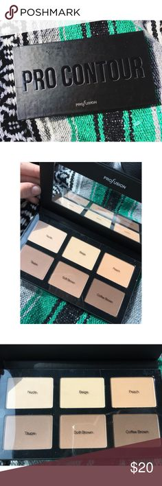 Kat Von D Shade/light DUPE  BEAUTIFUL contour palette that looks exactly like the Kat Von D shade/light palette. perfect for sculpting out those perfect cheekbones. NWT! Profusion Makeup