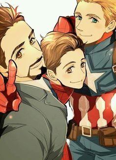 Read Superfamily from the story Imagenes yaoi Marvel & DC by MuSeSipider with reads. Avengers Comics, Marvel Avengers, Stony Avengers, Marvel Fan Art, Marvel Jokes, Marvel Funny, Marvel Heroes, Baby Avengers, Spideypool