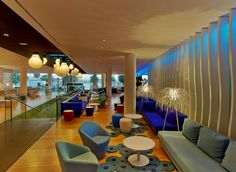 #Viccarbe #Project at W Hotel in Barcelona, Spain