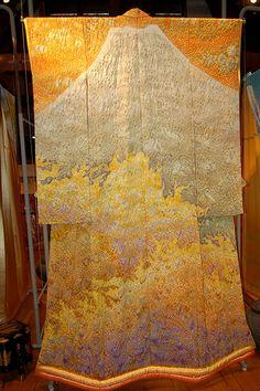 Kimono Art Exhibit by Kimono Exhibit, via Flickr The Landscapes of Itchiku Kubota