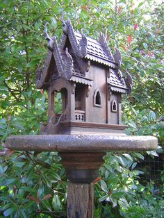 Spirit house in the garden