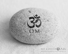 OM symbol art  - inspirational art - personalized art - www.artanddesignstudio.ca