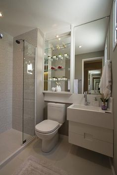 60 trendy bathroom storage ideas over toilet design Bathroom Design Small, Bathroom Layout, Bathroom Interior Design, Narrow Bathroom, Toilet Storage, Bathroom Storage, Basement Bathroom, Bathroom Cabinets, Bathroom Shelves