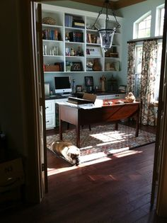 home office, custom cabinetry