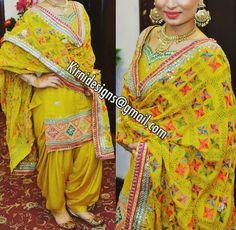 Punjabi Salwar Suits, Punjabi Dress, Patiala Suit, Salwar Kameez, Churidar, Anarkali, Ethnic Dress, Indian Ethnic Wear, Indian Girls