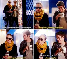 The Flash - Barry and Caitlin #1x12 #CrazyForYou #Snowbarry SO CUTE SDFGH OTP