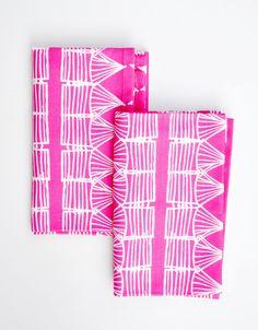 Inspiration for some bleach pen napkins
