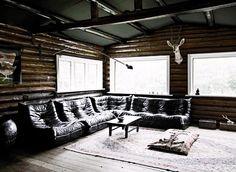 Modern Danish Log Cabin