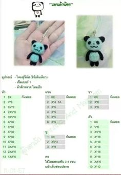 Amigurumi Oso Panda Patron : Amigurumis on Pinterest Amigurumi, Crochet Dolls and ...
