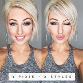 Short Hair Cuts For Women, Short Hairstyles For Women, Straight Hairstyles, Short Hair Styles, Frozen Hairstyles, Disney Princess Hairstyles, Uneven Bob, Latest Short Haircuts, Headband Styles
