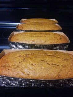 Lighter Pumpkin Bread that tastes amazing! It is also Dairy, soy, and egg free! - Collins Cooking