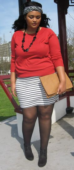 While enjoying the marvellous weather saturday afternoon, we bumped into this little fellow. I couldn't have planned it even if I w. Mode Plus, Ladybug, Curvy, Mini Skirts, Passion, My Style, Sexy, How To Wear, Clothes