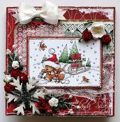 Christmas card with Starbucks inside!!