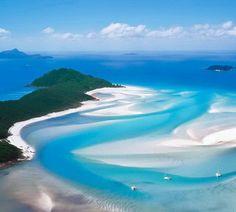 4. Playa Whitehaven, Australia